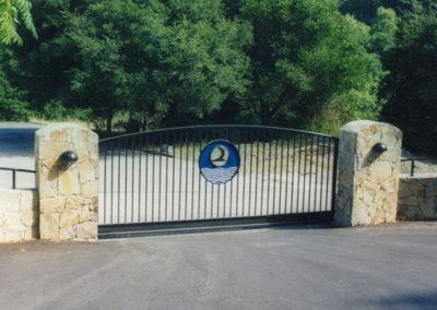 Arch Top Driveway Gates