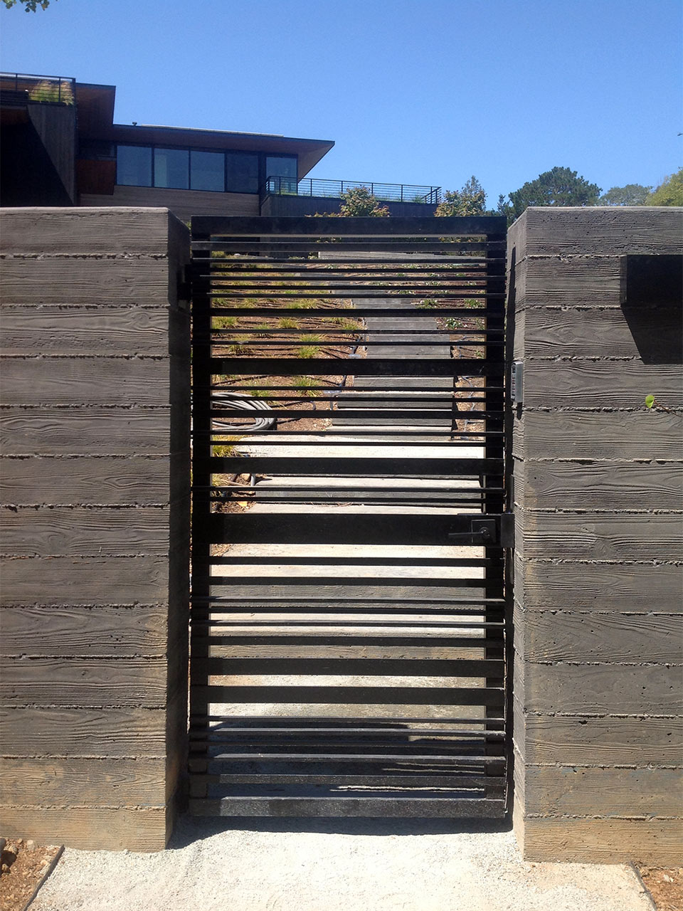 Custom Wrought Iron Amp Ornamental Steel Driveway