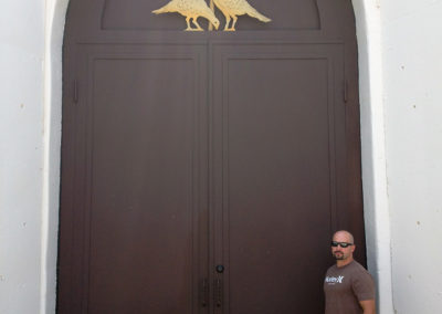 Winery Entrance Door